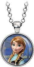 Wearable Treasures Disney's Frozen Anna Necklace, Elsa Pendant, Olaf Earrings, Princess Elsa Jewelry, Sven Kristoff Geek Geeky Gift, Arendelle Bridesmaid Wedding Present, Snow Queen Nerd Nerdy Gifts