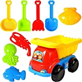 TangYang Beach Toys für Kleinkinder, Beach Sand Toys Set, Summer Beach Sand Toys, Outdoor Tool Kit, Sand Toy Kits