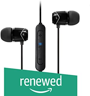 (Renewed) Soundmagic E10BT Bluetooth Stereo Earphones with Mic (Black)