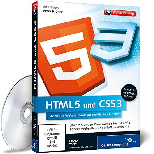 Preisvergleich Produktbild HTML5 und CSS3 - Die neuen Webstandards im praktischen Einsatz
