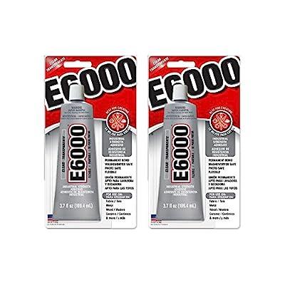e6000 glue clear