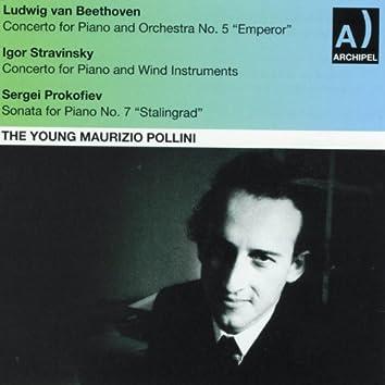 The Young Maurizio Pollini (Beethoven, Stravinsky, Prokofiev: Concertos for Piano)