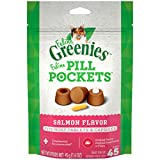 Greenies Feline Pill Pockets Salmon 1.6oz