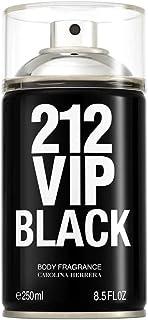 212 Vip Black Carolina Herrera - Body Spray - 250ml