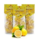 Caramelos Blandos De Limón Y Miel - 150 Gramos (Paquete de 3 Piezas)
