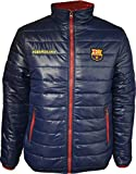 Chaqueta acolchada del Barça para hombre - Colección oficial FC Barcelona - Talla adulto, Hombre, azul marino, extra-large