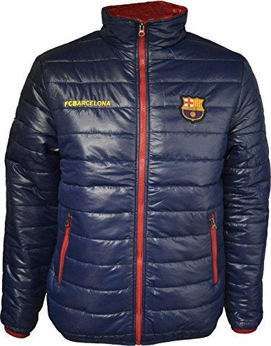 Fc Barcelone Doudoune Barça - Collection Officielle Taille Adulte Homme S