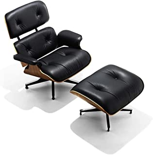 Best mid century modern black leather chair Reviews