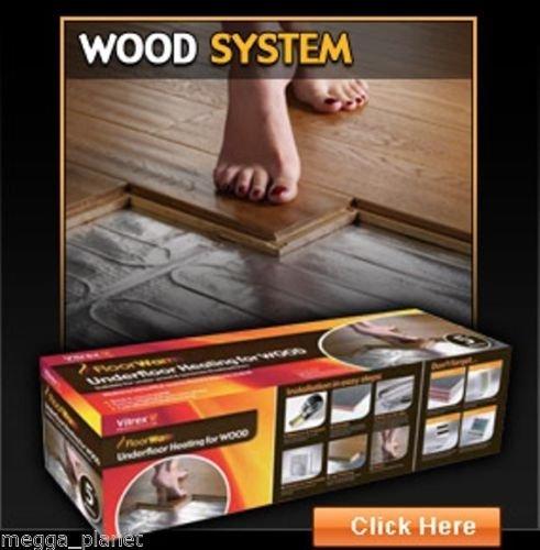 Vitrex FloorWarm IPX7 Elektrische Vloerverwarming Mat Voor Houten Vloeren 140w/m2