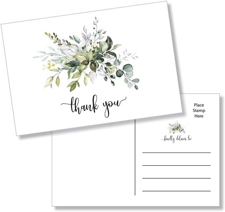 Wedding Notecard Greenery Thank You Notecard Set Rustic Note Cards Floral Notecard Set Personal Notecard. Rustic Thank You Notecards