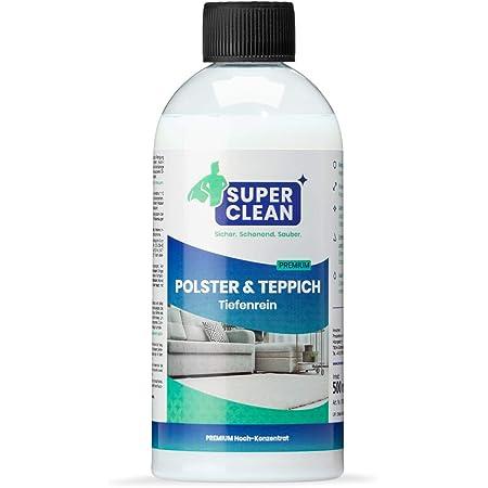 Produit de nettoyage concentré pour tout type de rembourrage, tapis, moquette, siège auto