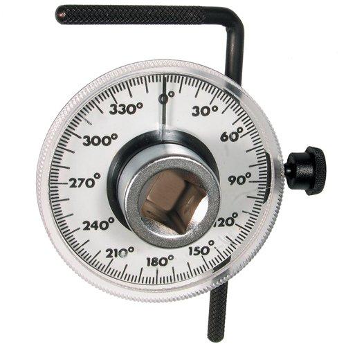Drehwinkelmesser Messgerät mit 360° Skala für Zylinderkopfschrauben Muttern