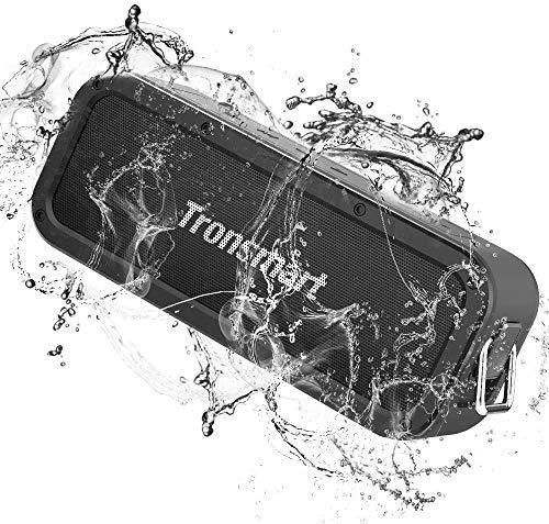 Tronsmart Force Haut-Parleur Bluetooth 40W, Enceinte Bluetooth Extérieur sans Fil Speakers Waterproof Portable, étanche IPX7, Autonomie 15H,NFC & TWS,Étanche Subwoofer avec NFC,Son Stéréo et Basses