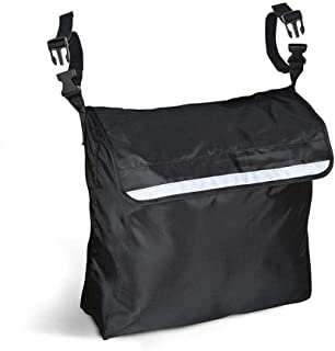 uyoyous 車いす用バッグ 車椅子の背に掛けての収納 ポケット【車椅子付属品】