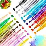 Rotuladores de pintura acrílica, RATEL 18 colores Prima Impermeable Permanente Rotuladores para...