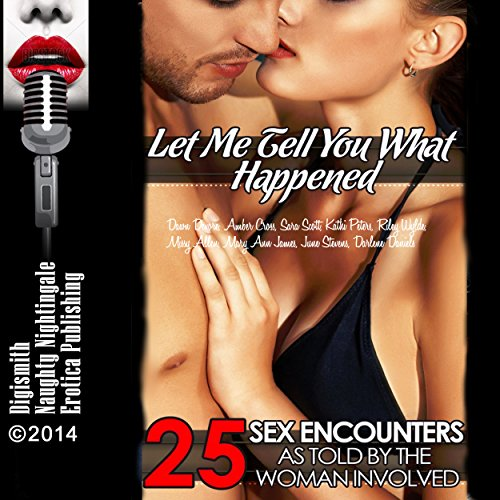 Let Me Tell You What Happened audiobook cover art
