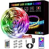 LED Light Strip, KIKO Color Changing Led Lights 21.3ft/6.5m SMD 5050 RGB Strips