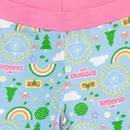Hey Duggee Girls Pyjamas Age, 2-3 Years, Multicoloured