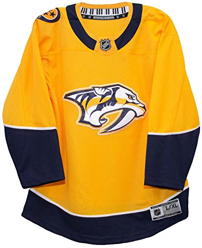 NHL Team Apparel Nashville Predators NHL Premier Youth Replica Home Hockey Jersey (L/XL)