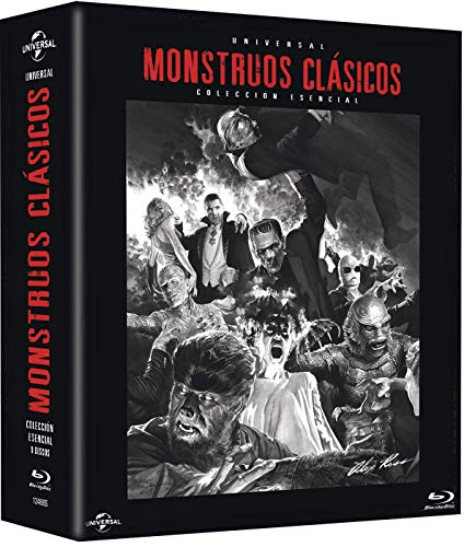Pack: Monstruos Clásicos Universal (BD) [Blu-ray] (9 PELÍCULAS)