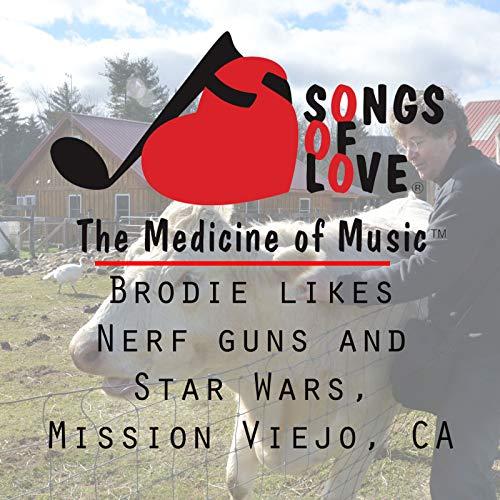 Brodie Likes Nerf Guns and Star Wars, Mission Viejo, Ca