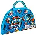 PAW PATROL Estuche Pinturas para Niños, Maletin Pinturas con Material Escolar, Incluye Acuarelas Niños Rotuladores y Ceras de Colores, Regalos Creativos para Niños y Niñas 3+ de F&F Stores