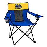 Logo Brands NCAA Collegiate UCLA Bruins Unisex Adult Elite Chair with Two Cups Holder, One Size, Multicolor