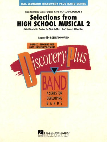 Selections from High School Musical 2 – Concert Band/Harmonie – SET