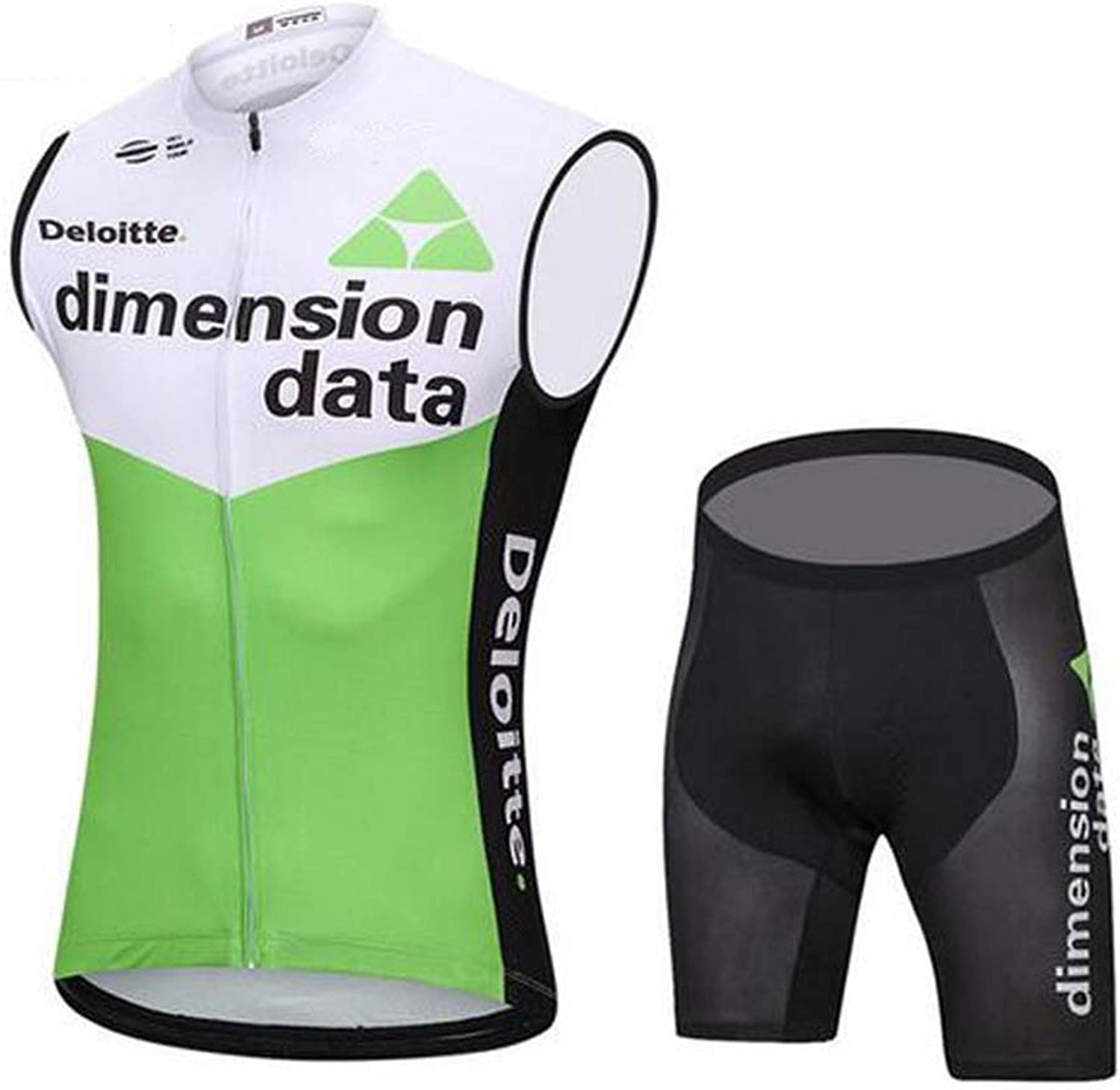 JIAO UK Bicycle Clothes Breathable Light And Fast Fast And Dry High Visible Ms Vest Cycling Jerseys