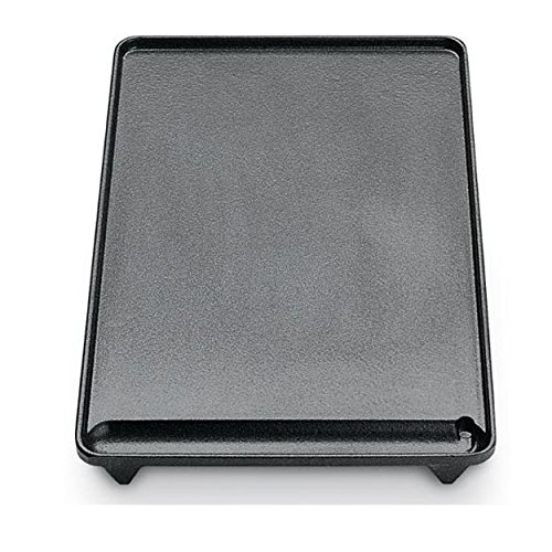 BST D93 - Piastra in ghisa liscia 40 x 26 cm