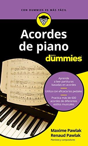 Acordes de piano para Dummies