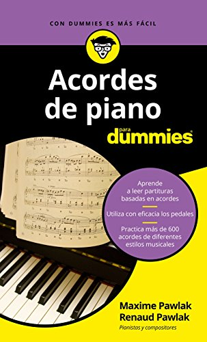 Acordes de piano para Dummies (Spanish Edition)
