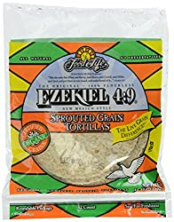 Food For Life, Organic Ezekiel 6 inch Sprouted Grain Tortillas,1 pack of 12 Tortillas,12 oz (Frozen)