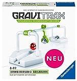 Ravensburger GraviTrax Erweiterung Seilbahn - Ideales Zubehör für spektakuläre Kugelbahnen, Konstruktionsspielzeug für Kinder ab 8 Jahren