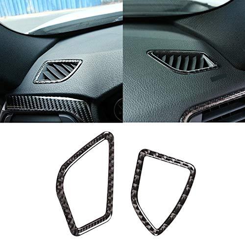 Accesorios de fibra de carbono Centro de interiores de automóviles de fibra de carbono real / aire acondicionado de aire acondicionado de aire de aire acondicionado para BMW 3 4 Series F30 F32 2013-20