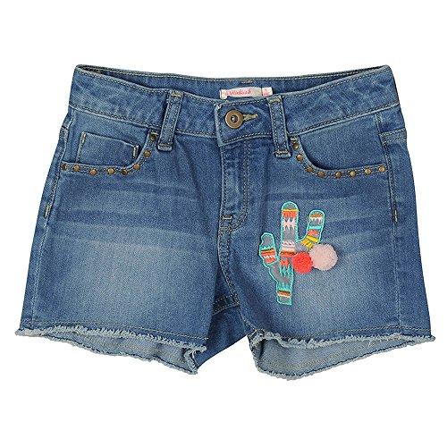 Billieblush Jeans Shorts mit Kaktus Applikation Gr. 3 Jahre / 92-98