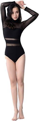 GSCchaussures VêteHommests de Sport Combinaison aérienne de Yoga siamoise de vêteHommests de Ballet en Maille Triangle de Couture VêteHommests d'entraîneHommest (Taille   XL)