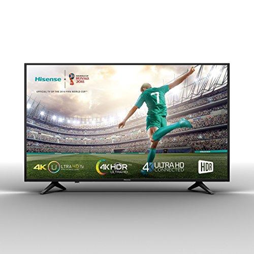 Hisense H50A6100 - TV Hisense 50' 4K, HDR, Smart TV VIDAA U, Super Contraste, Precision Color, Depth Enhanced, Remote Now,...