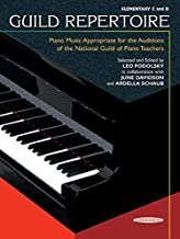 Guild Repertoire -- Piano Music Appropriate for the Auditions of the National Guild of Piano Teachers: Elementary C & D (Summy-Birchard Edition) (1995-04-01)