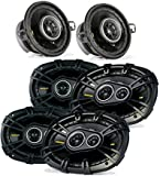 Kicker Dodge Ram Crew Cab 2012 & up speaker bundle- 2 pairs of CS 6x9' speakers, & a pair of CS 3.5' speakers
