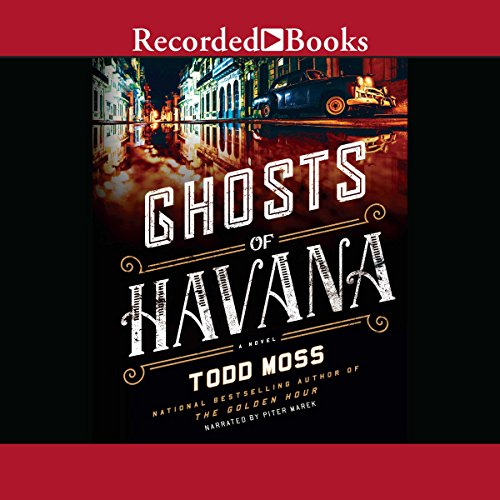 Ghosts of Havana audiobook cover art
