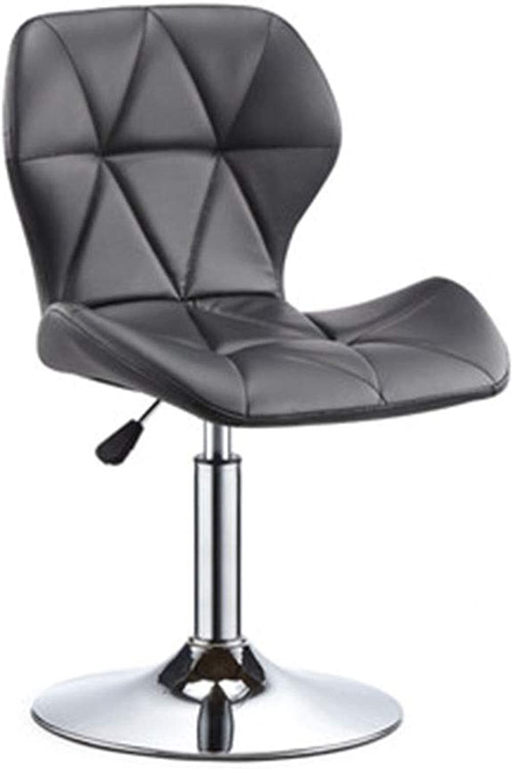 Bar Chair Chair Lift Simple High Stool redate Chair Household Bar Stool 3 colors 1 Size (color   Black)