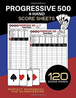 Best 500 cards score sheet Reviews