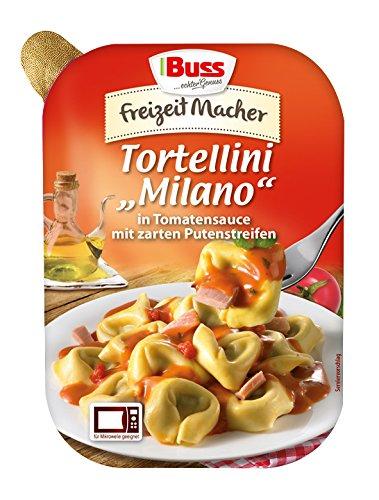"""Buss Tortellini """"Milano"""" in Tomatensauce mit zarten Putenstreifen, 12er Pack (12 x 300 g)"""