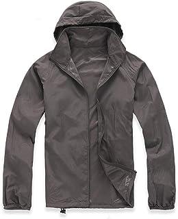 Lanbaosi Women's Super Lightweight Uv Protect+Quick Dry Waterproof Skin Jacket (Medium, Dark Grey)
