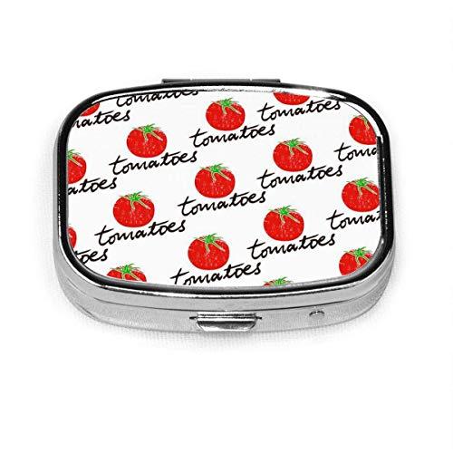 Tropische Sommer Surfbretter Palm Custom Fashion Silber Quadrat Pille Box Medizin Tablettenhalter Brieftasche Organizer Fall für Tasche oder Geldbörse Vitamin Organizer Halter Dekorative Box