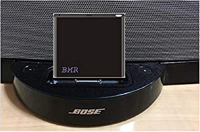 BMR A2DP Bluetooth Music Receiver Adapter for Bose SoundDock Speakers- Extra Long Wireless Range up to 60 ft; for iPhone, Samsung, Nokia, HTC, LG, Motorola