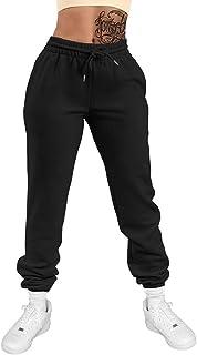 GOKATOSAU Women's Sexy Lounge Stretch Casual Jogger Drawstring Sweatpants with Pockets