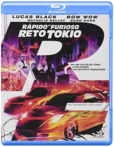Rapido Y Furioso Reto Tokyo(The Fast And The Furious – Tok)  (la portada puede variar) [Blu-ray]