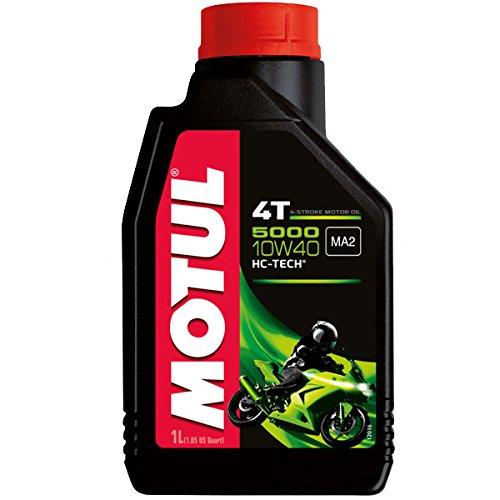 Olio Motore Moto Motul 5000 4T 10W40 MInerale - 1 litro lt